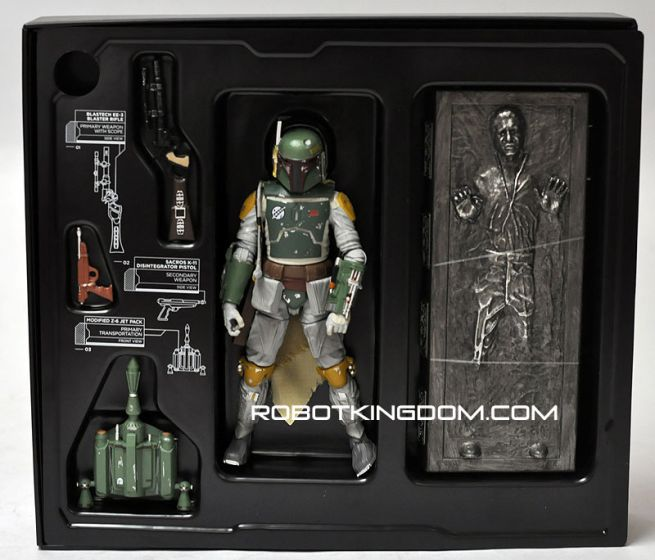 SDCC 2013 Black Series Boba Fett & Han Solo Carbonite (No SDCC Label). Last stock!