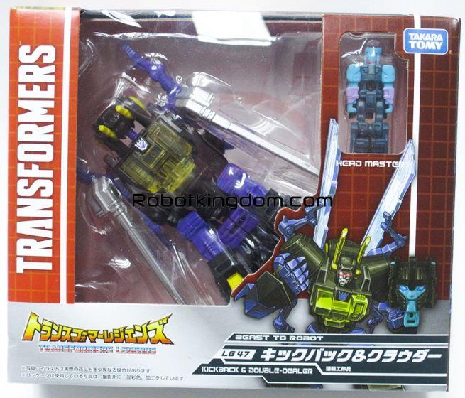 Transformers Legends LG-47 Kickback & Crowbar. Available Now!