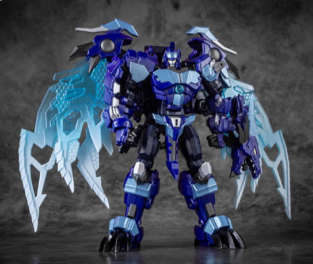 IRON FACTORY IF-EX42Z ABSOLUTE ZERO with Convention exclusives head and character card. Available Now!