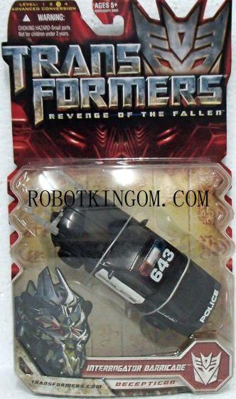 Hasbro Transformers 2 ROTF - Deluxe Interrogator Barricade. Warehouse Found!
