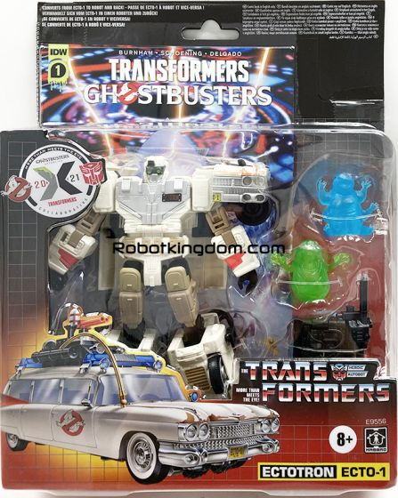Transformers: Generations – Transformers Collaborative: Ghostbusters: Afterlife Ecto-1 Ectotron. Available Now!