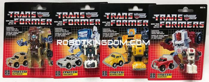 Exclusive Transformers G1 Legion COLLECTION PACK Set of 4. Available Now!