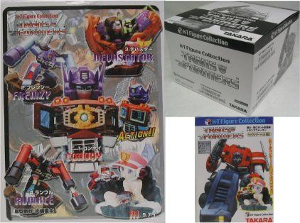 Takara Transformers KT Figure Collection: Box of 12