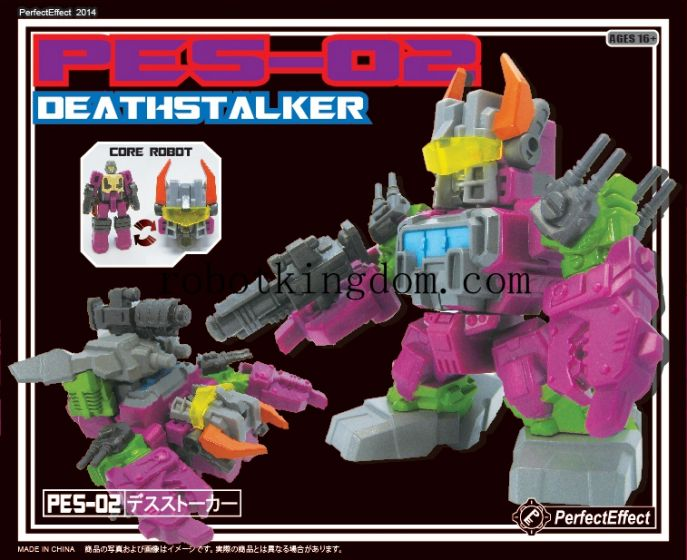 """Perfect Effect PES-02 DEATHSTALKER(3.5"""" Tall) . Available Now!"""