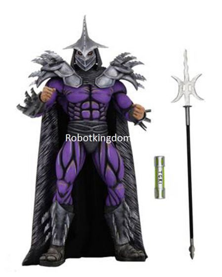 "Neca Teenage Mutant Ninja Turtles (1990 Movie) -7"" Scale-Action Figure – Deluxe Super Shredder."