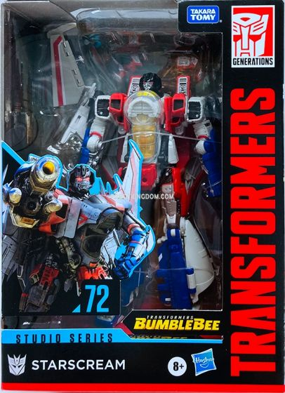 Transformers Generations Studio Series VOYAGER TF6 STARSCREAM. Available Now!