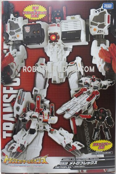Takaratomy Mall Exclusive Transformers LG-EX Metroplex. Available Now!