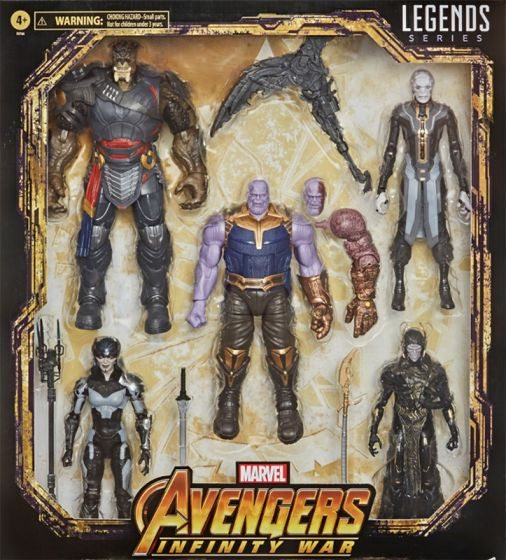 """Exclusive Marvel Legends Avengers Infinity War 6"""" THE CHILDREN OF THANOS 5 Pack. Preorder. Start Shipping on 15th December 2020."""