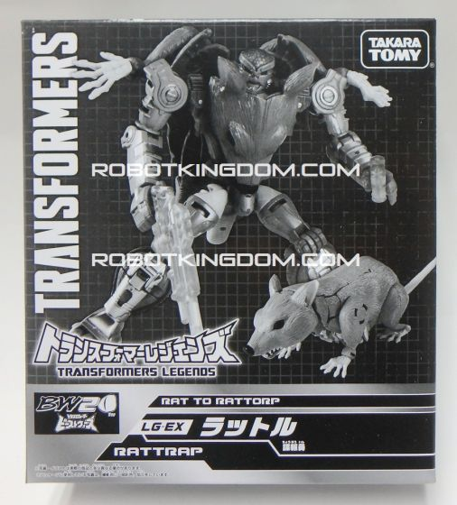 Beast Wars 20th Anniversary Exclusive EX-LG Rattrap.  Available Now!