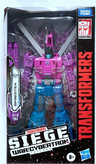 Transformers Generations WFC DELUXE AST W5 SPINISTER SOLID. Available Now!