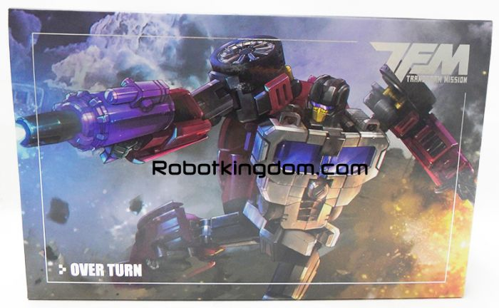 TransFormMission TFM M-04 Over Turn. Available Now!