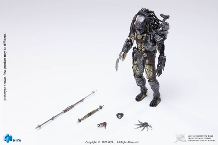 """Hiya Toys LP0099 Exquisite Mini Series: """"AVP"""" - Warrior Predator. Preorder. Available in 2nd Quarter 2021."""