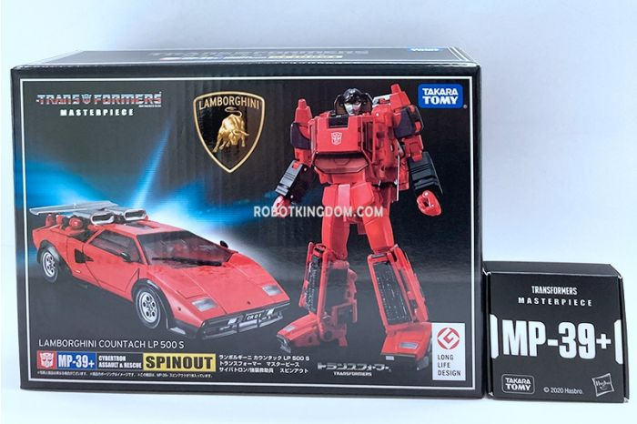 Takaratomy Mall Exclusives Transformers Masterpiece MP-39+ SPINOUT. Available Now!