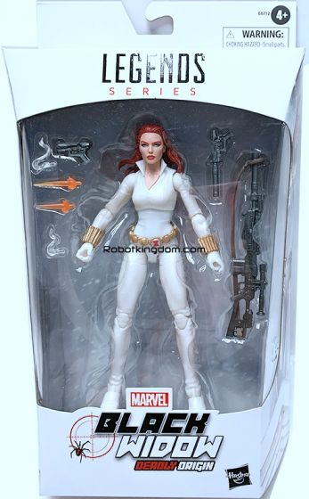 "Exclusives Marvel Legends 6"" Black Widow Deadly Origin. Available Now!"