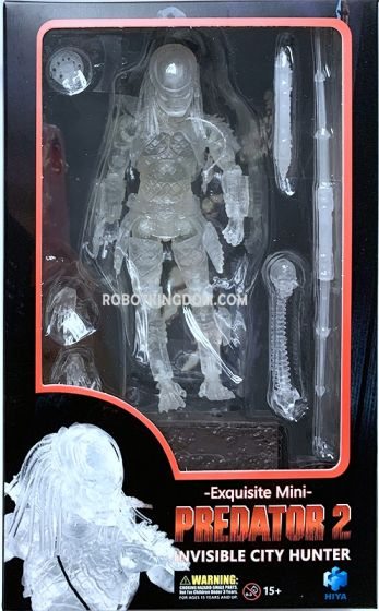 Hiya Toys LP0035 Exquisite Mini Series -  Predator 2 Invisible City Hunter. Available Now!