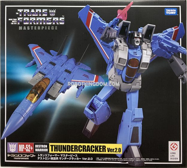 TakaraTomy Mall Exclusive Transformers Masterpiece MP-52+ Thundercracker. Available Now!