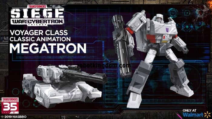 Transformers 35th Generations 2019 Siege of cybertron Siege Voyager Megatron. Available Now!