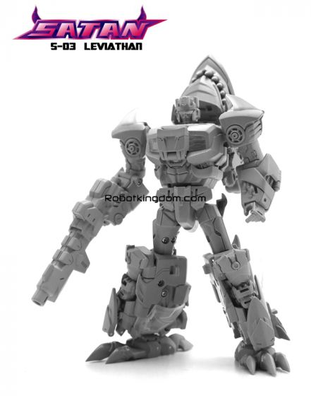 TFC combiner Satan S-03 Leviathan. Preorder. Available in 2nd Quarter 2020.