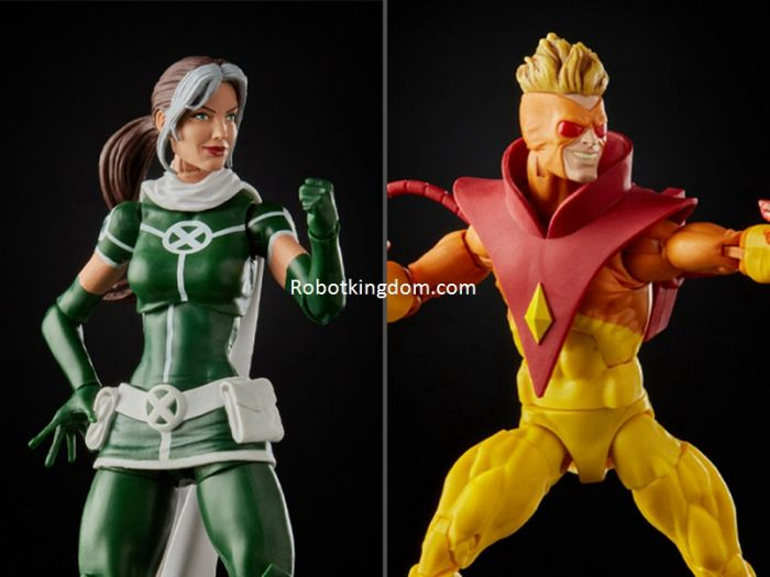 X-Men Marvel Legends 20th Anniversary Rogue & Pyro. Start Shipping Now!