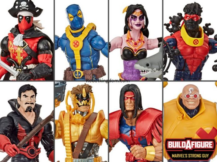Marvel Legends Deadpool 6 inch 2020 Set of 8. Preorder. Star Shipping on 1st Sep 2020.