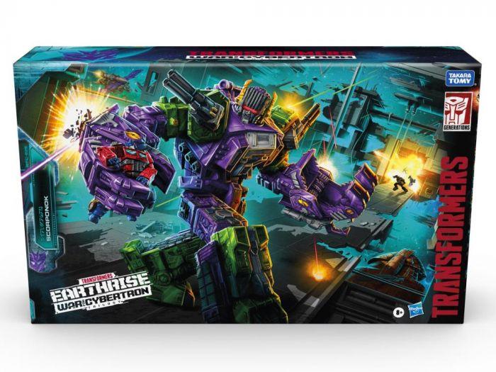 Transformers War for Cybertron: Earthrise Titan Scorponok. Available Now.