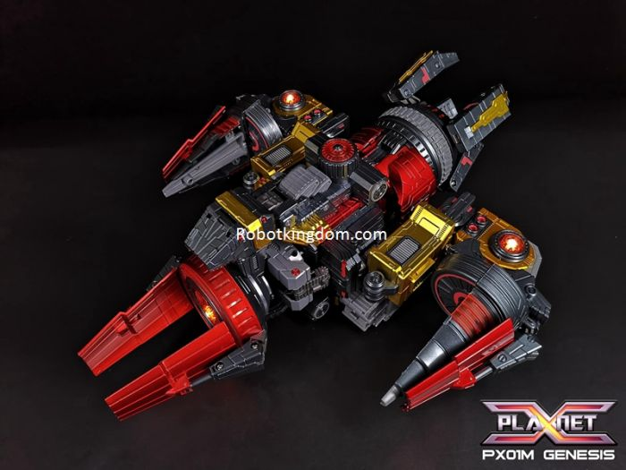 Planet X PX-01M Genesis Metallic Version. Preorder. Expected to release in December 2020.