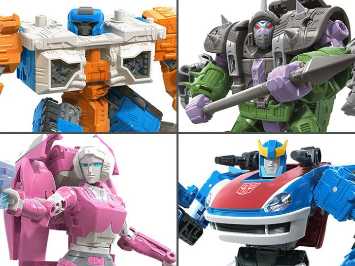 Transformers Generations Earthrise Deluxe wave 2 set of 4  (QUINTESSON ALICON, ARCEE, AIRWAVE, SMOKESCREEN). Preorder. Start Shipping on 1st September 2020.