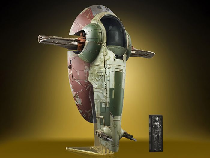 "Star Wars The Vintage Collection Boba Fett's Slave I 3.75"" Scale Vehicle. Preorder. Available in May 2021."