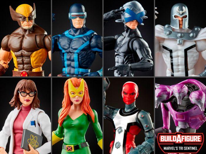 Marvel Legends 2021 X-men Legends Wave 6 Set of 7 (Wolverine, Cyclops, Magneto,Moira MacTaggert, Jean Grey,Omega Sentinel,Professor X, Tri Sentinel BAF). Preorder. Start Shipping on 1st April 2021.