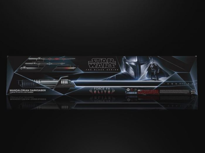 Star Wars The Black Series Force FX Elite Darksaber. Preorder. Available in August 2021.