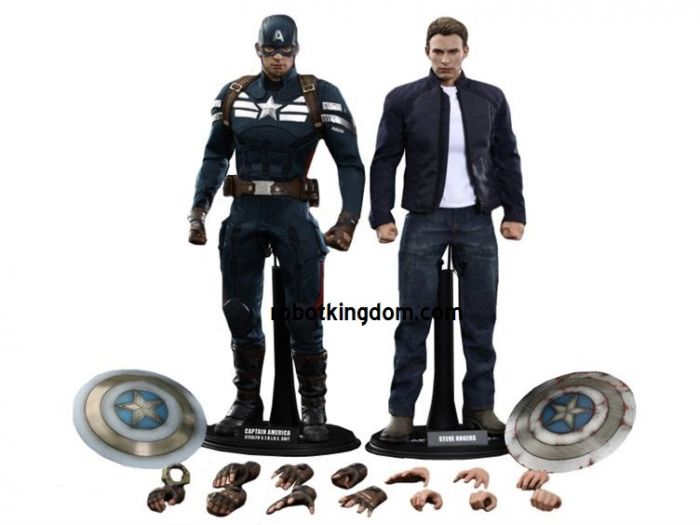 Hottoys MMS243 Captain America & Steve Rogers. Available Now!
