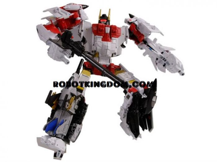 Transformers United Warriors UW-01 Superion. Available Now!