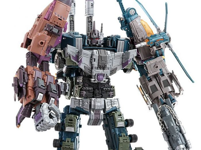 Warbotron WB-01 Combiner Set of 5. Available Now!