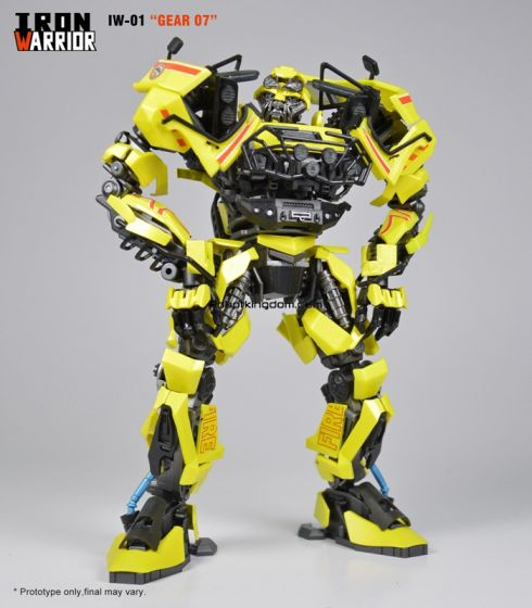 """IRON WARRIOR IW-01 """"Gear 07"""".  Available Now !"""
