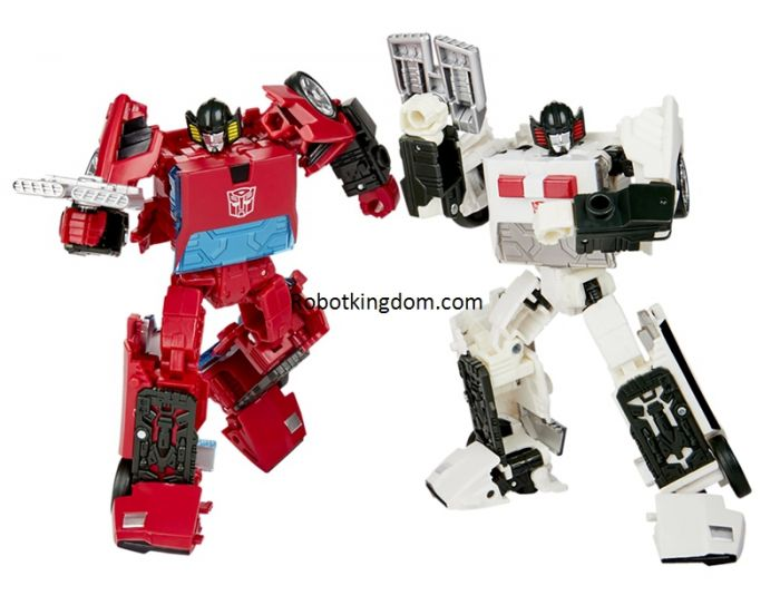 Transformers Generations Selects Deluxe WFC-GS20 Cordon and Autobot Spin-Out. Preorder. Start Shipping 1st Jan 2021.