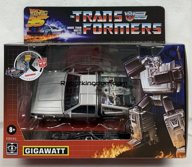 Transformers Generations - Transformers Collaborative: Back to the Future Mash-Up, Gigawatt. Available Now!