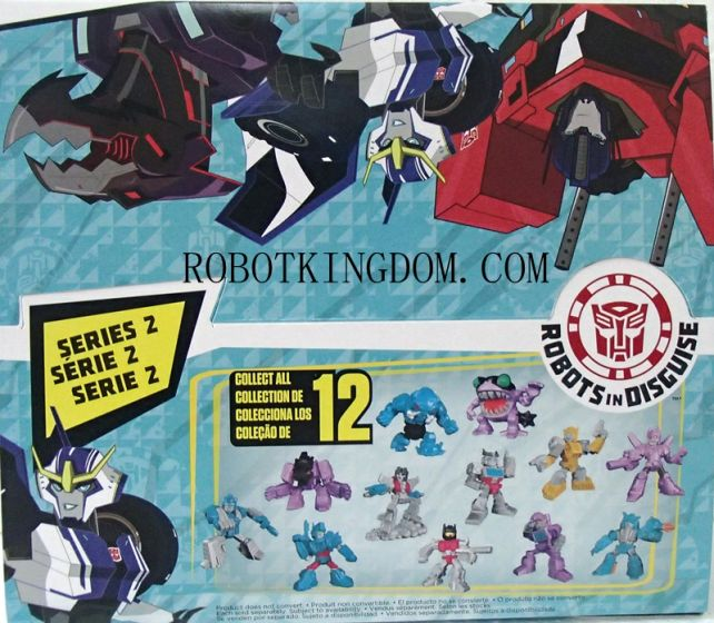 Hasbro Transformers Tiny Titan 2015 Wave 2 Sealed Case of 24. Available Now!