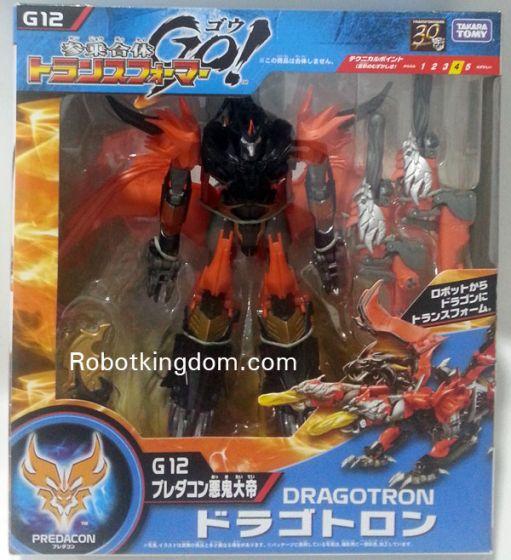 Takara Transformers Go G-12 Dragotron.