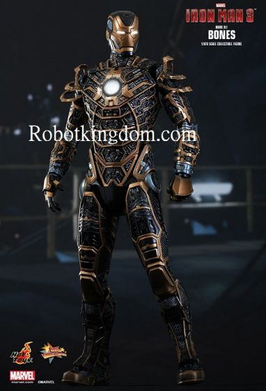 Hot Toys MMS251 – Iron Man 3: 1/6th scale Bones (Mark XLI) Collectible Figure. Preoder, available 2rd quarter 2015.