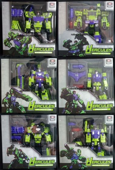 TFC Toys Hercules Set of 6. Available Now!