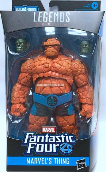 Fantastic Four Marvel Legends MARVEL's THING. Available Now!