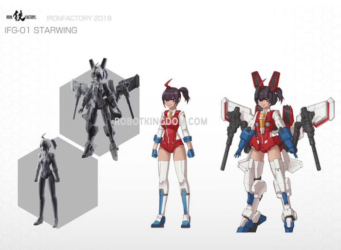 Iron Factory IF-G01 StarWing. Preorder. Available in 2020.