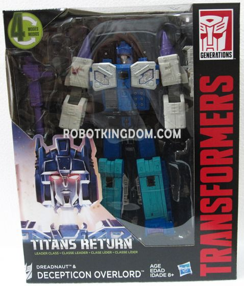 Generations 2017 Leader Titan Returns Wave 3 Overlord. Available Now!