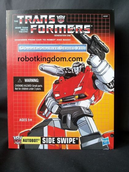 Hasbro Transformers G1 Reissue Sideswipe. Available Now!
