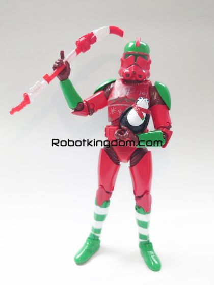 "Exclusives Star Wars Black Series 6"" Clone Trooper (Holiday Edition). Available Now!"