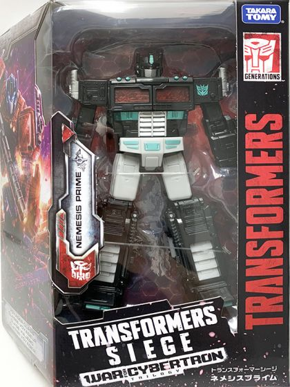 Takaratomy Mall Exclusives Transformers SG06 NEMESIS PRIME. Available Now!