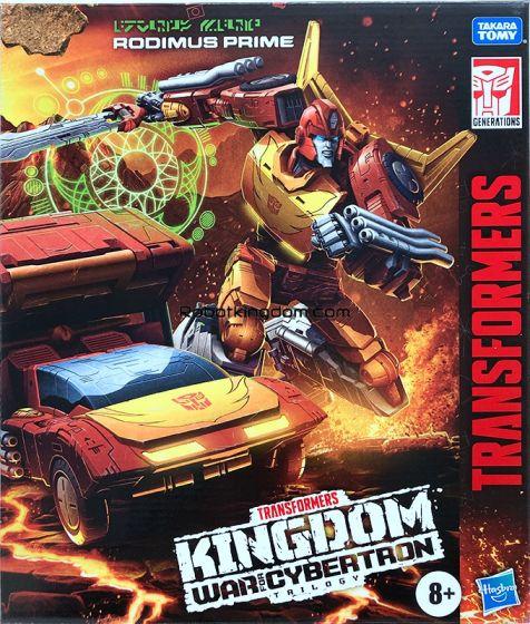 HASBRO Transformers War for Cybertron Kingdom Commander Class Rodimus Prime. Start Shipping Now!
