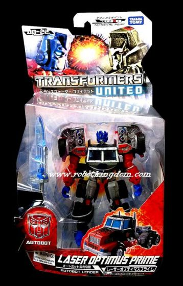 TAKARA TRANSFORMERS UNITED UN-22 G2 Optimus Prime. Warehouse Found!