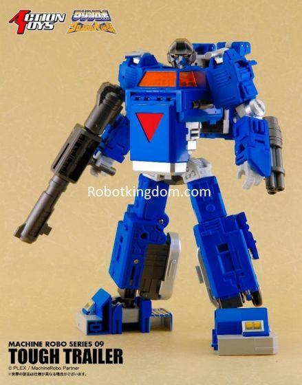 Action Toys Machine Robo 09 TOUGH TRAILER. Preorder. Available in 4th Quarter 2020.