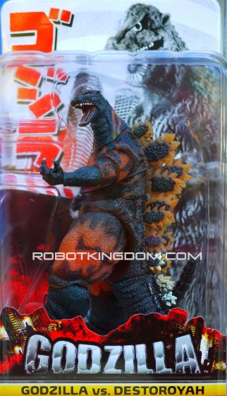 "NECA  12"" Head to Tail Action Figure - Classic '95 Burning Godzilla. Available Now!"